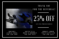 25% off referral
