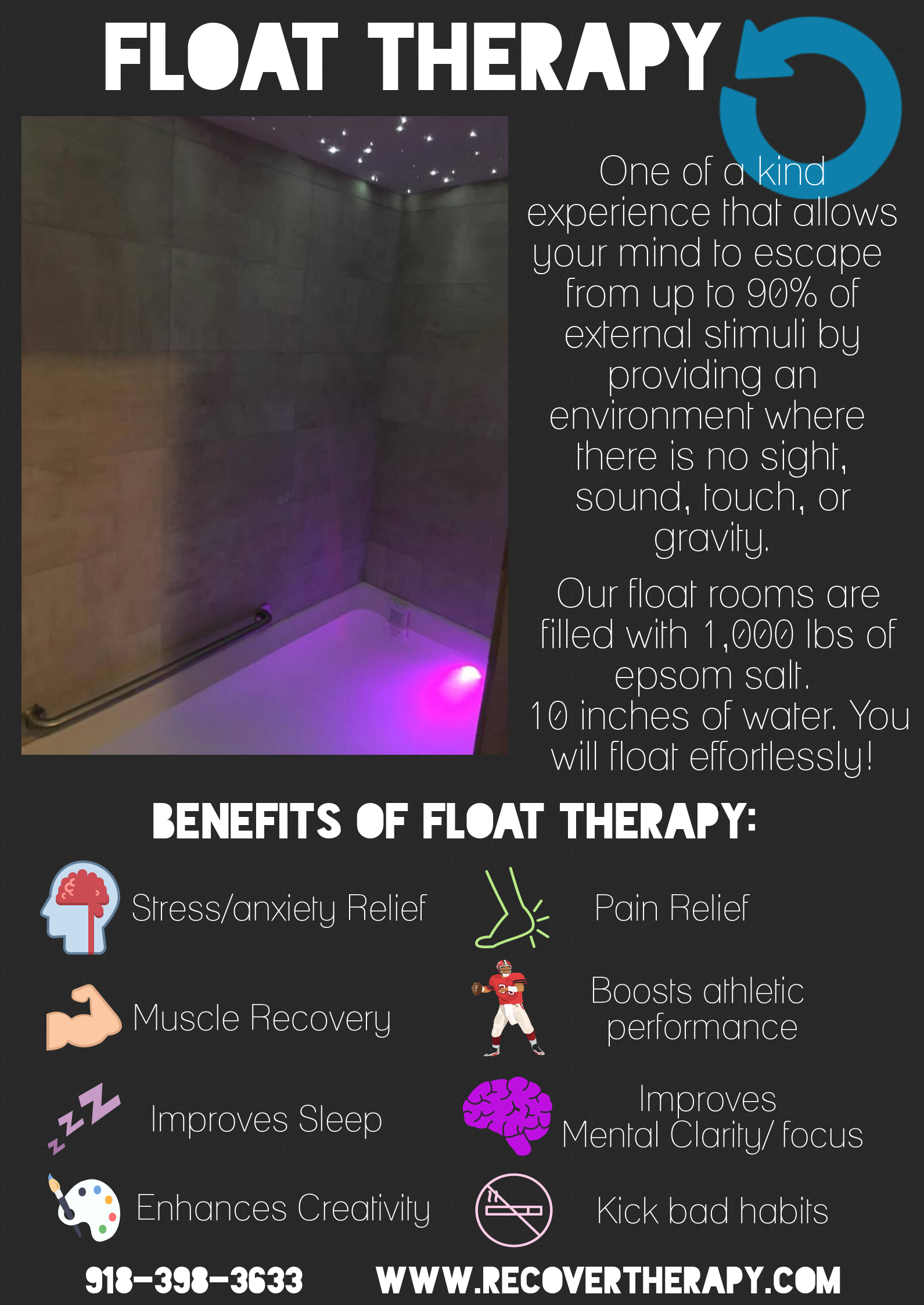 float infographic